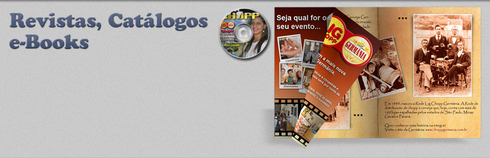 Revistas, Catálogos e ebooks